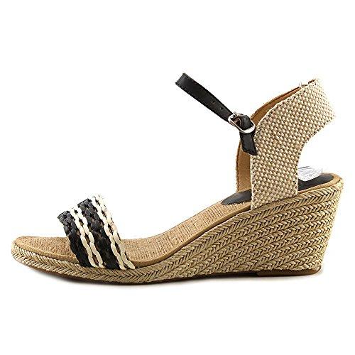 8b0e56b1ed4 UPC 886742348989 - Lucky Brand Kavelli 2 Women US 8 Black Open Toe ...
