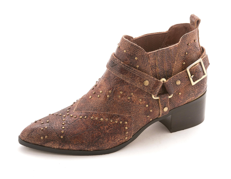 donald j pliner womens desta pointed toe ankle cowboy