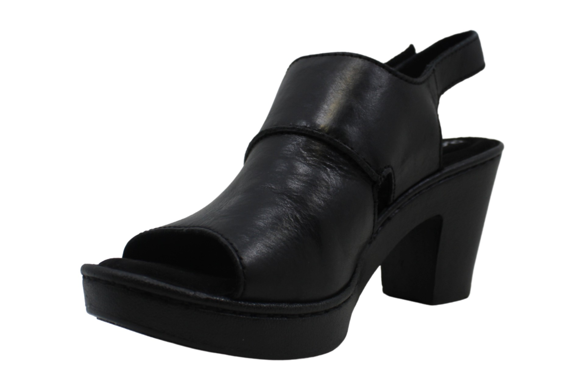 thumbnail 9 - Born-Womens-Wekiva-Leather-Open-Toe-Casual-Ankle-Strap-Sandals