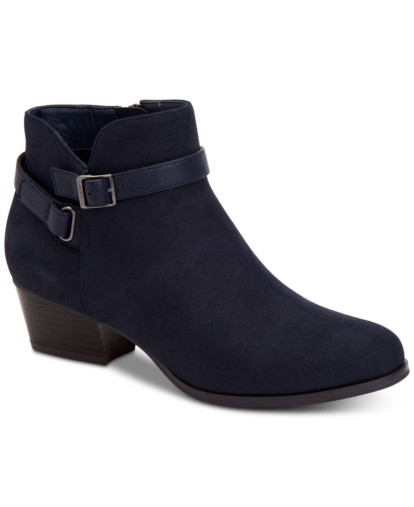 thumbnail 11 - Giani-Bernini-Womens-Dorii-Leather-Almond-Toe-Ankle-Fashion-Boots