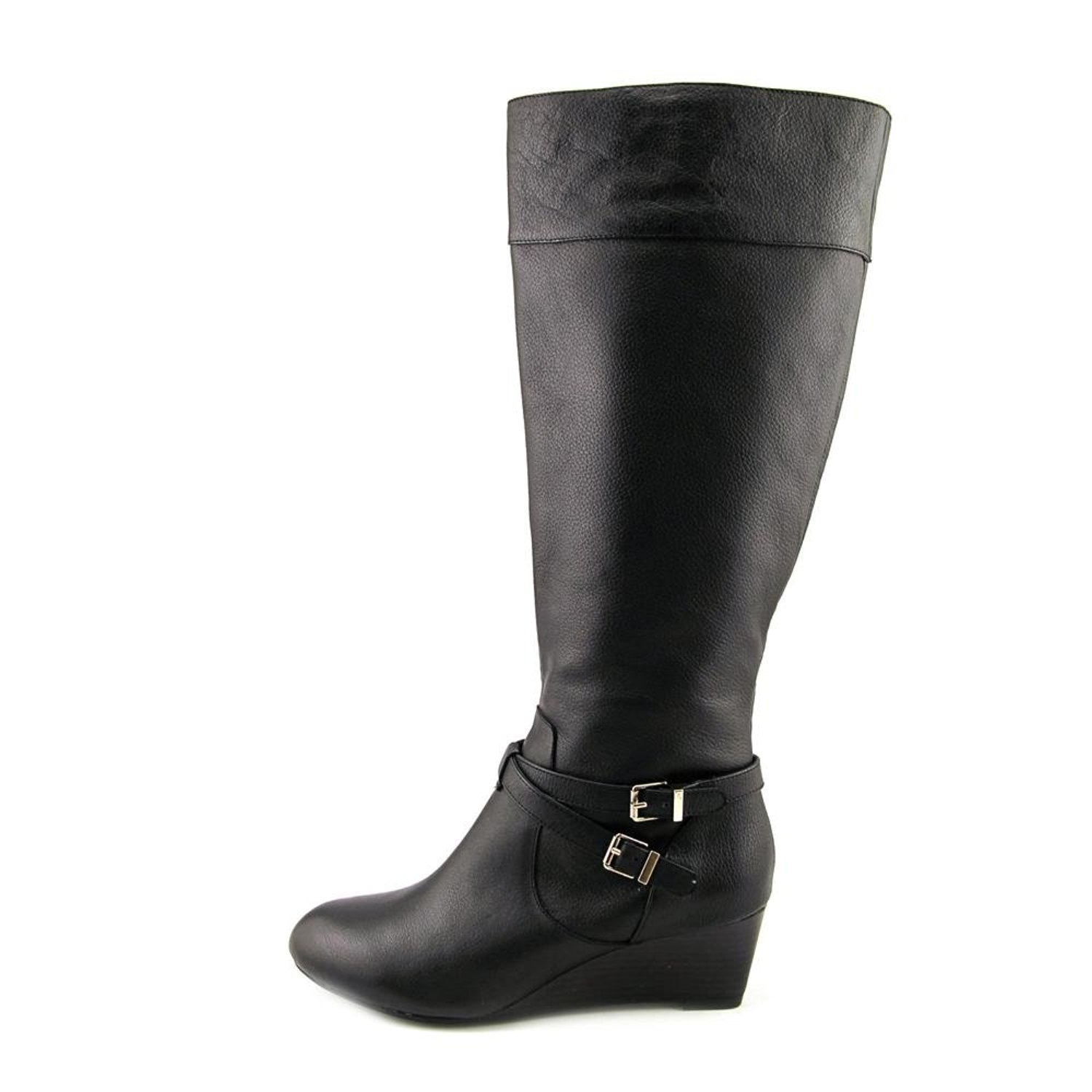 giani bernini s kalie wide calf leather knee high