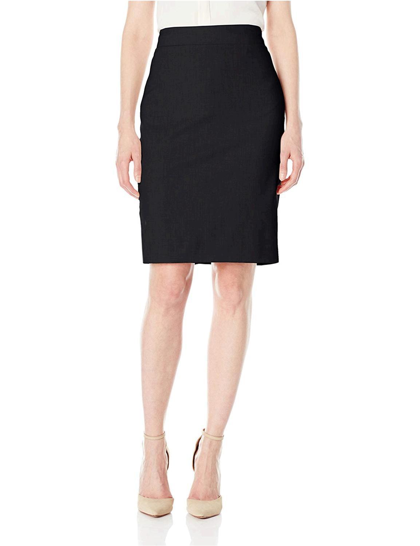 Jones New York Womens Washable Suiting Pencil Skirt