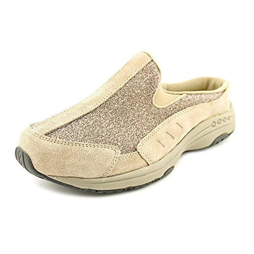 easy spirit womens travel time suede low top slip on